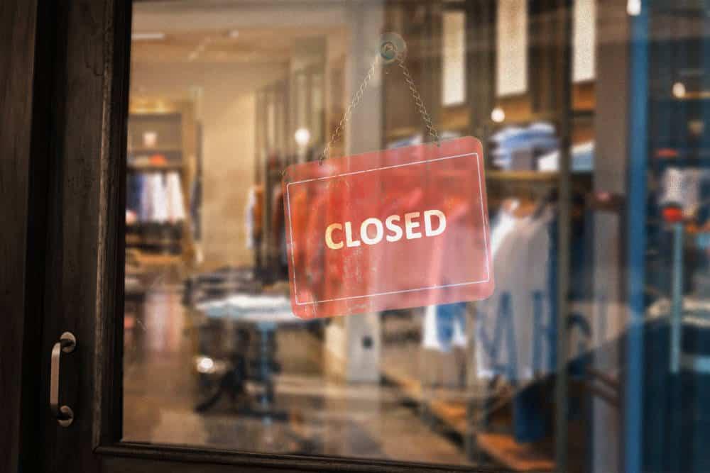 Closed Dress Shop