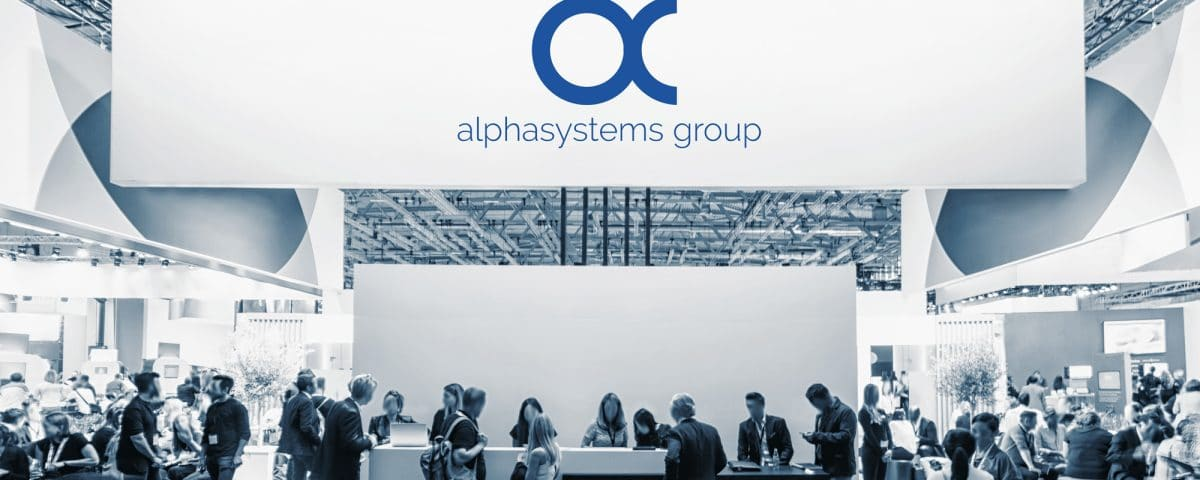 Messestand alphasystems